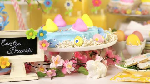 Easter brunch Footage