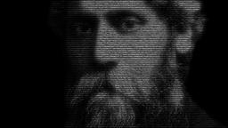 Rabindranath Tagore Face Animation CG動画素材