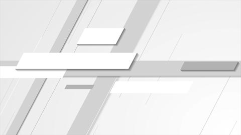 Light grey technology abstract video animation Animation