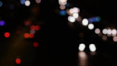 Bokeh of Traffic Lights 영상물