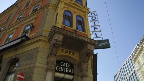 cafe central,Innsbruck Footage
