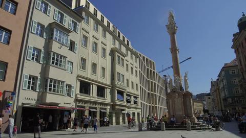 Santa Anna column, Innsbruck Footage