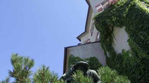 Innsbruck, Austria - Statue of Andreas Hofer Footage