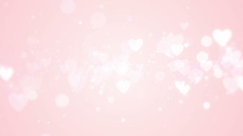Valentine love background, looped Animation