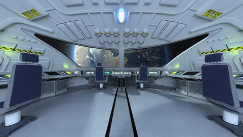 In the SpaceShip CG動画