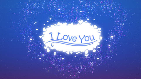 I Love You - Cloud Animation