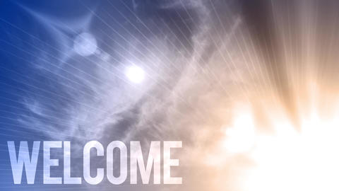 Heavenly welcome text Live Action