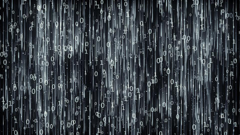 Data Digital Code Dark Background Image