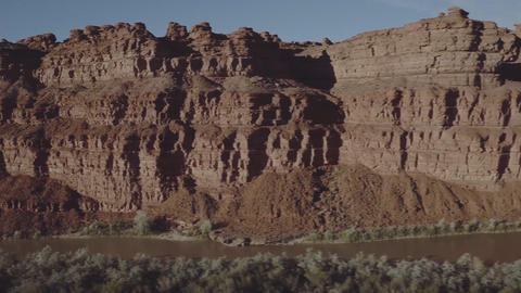 The landscape of the copper canyon, chihuahua, Mexico. View from the height Footage