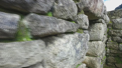 A view from the ancient city of the Incas, Machu Picchu, Peru Footage