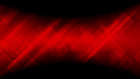 Abstract dark red tech geometric video animation Animation