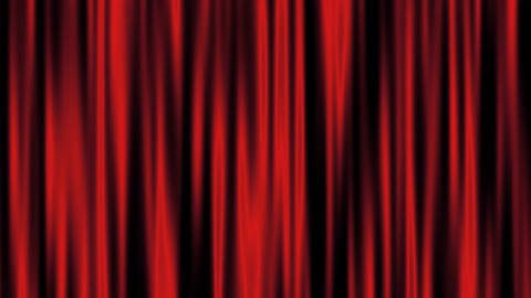 red curtain Stock Video Footage
