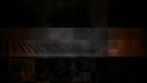 orange grunge Stock Video Footage