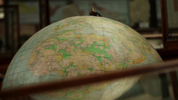 old Globes Stock Video Footage