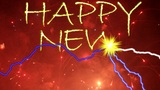 HAPPY   NEW   YEAR  Fireworks stock footage