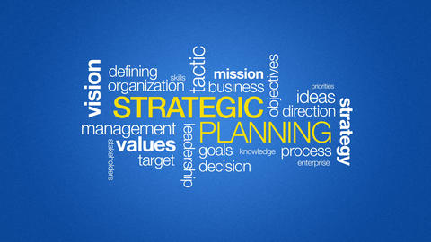 Strategic Planning Stock Video Footage