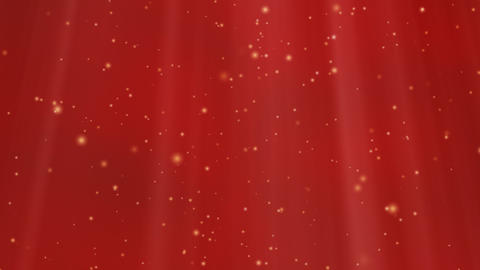 Looped Lights And Stars Background (Red) Animation