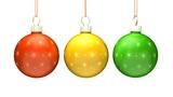Christmas Balls Loop (HD 30fps + Alpha) Animation