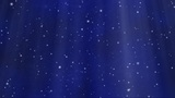 Looped Lights And Stars Background (Blue) Animation