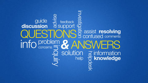 Questions And Answers Stock Video Footage