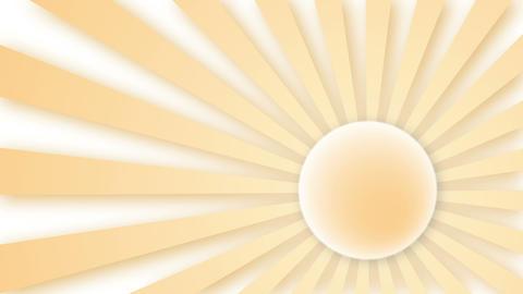 Sun rays, Loop elements Stock Video Footage