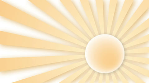 Sun rays, Loop elements Animation
