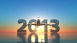 2013 飛行機 Stock Video Footage
