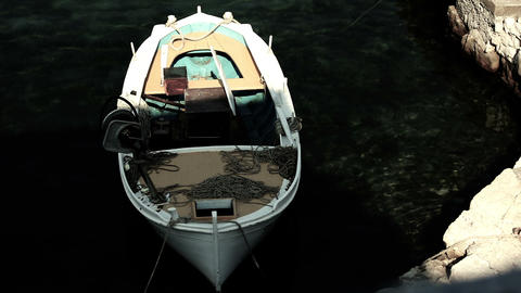 Fisher Boat 05 Stock Video Footage
