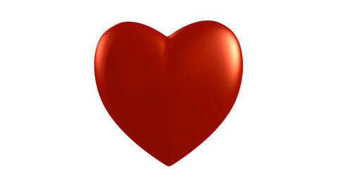 Heart beating. Loop Stock Video Footage