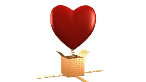 Heart Gift Animation