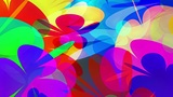 PowerFlowers - Colorful Abstract Blossoms Video Ba Animation