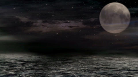 Moon 2551 Stock Video Footage