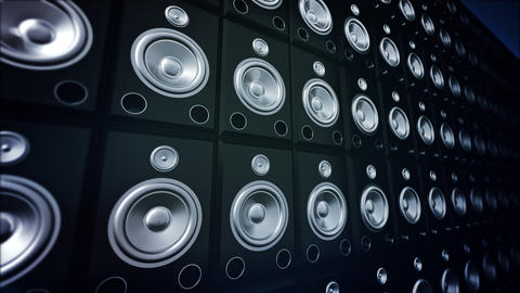 Speaker Wall Footage