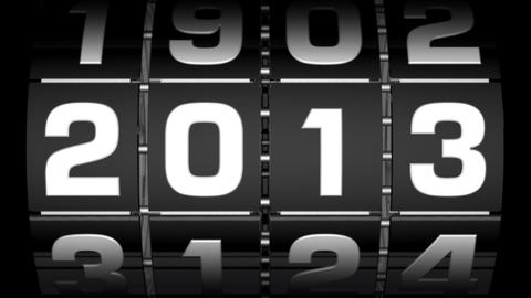 2013 Step Counter stock footage
