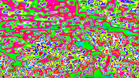 psychedelic abstract background Stock Video Footage