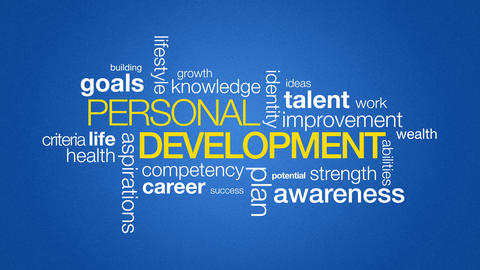 Personal Development stock footage