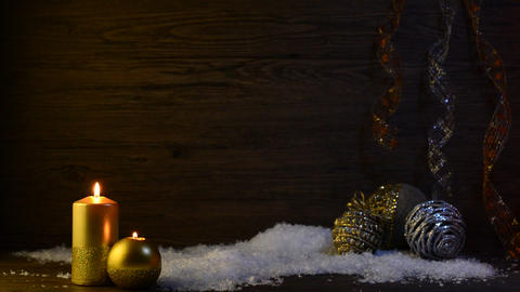 Christmas scene Stock Video Footage