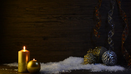 Christmas Scene stock footage