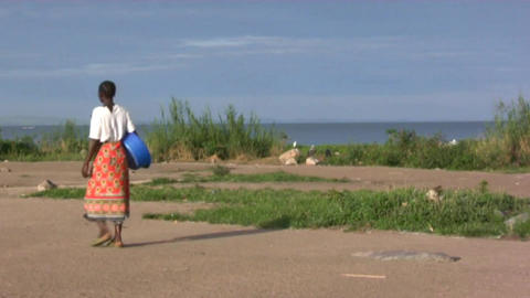 African woman Stock Video Footage