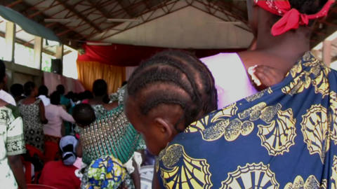 African woman Footage