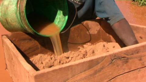 Mines gold Stock Video Footage