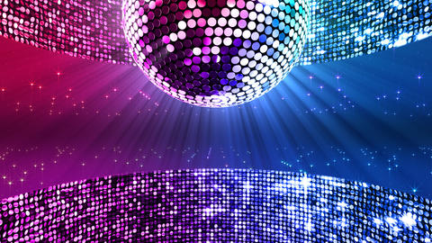 Mirror Ball 2 x 4 SP A Mb 1 HD Stock Video Footage