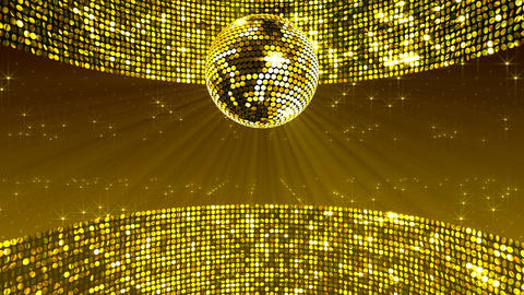 Mirror Ball 2 x 4 SP A Ms 1 HD Stock Video Footage