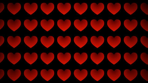 Red Love stock footage