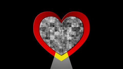 heart beat Stock Video Footage