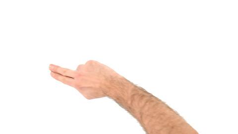 Finger drag Live Action