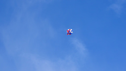 4K Colored Balloons Fly In The Sky Footage