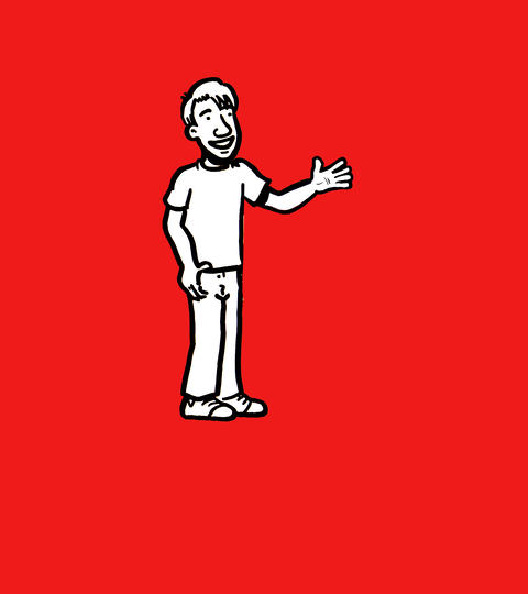 Waving dude Animation
