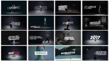 Premier Clean Art Titles Premiere Proテンプレート