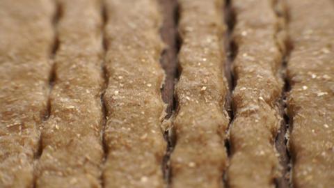 Background of trenette pasta . Video Archivo